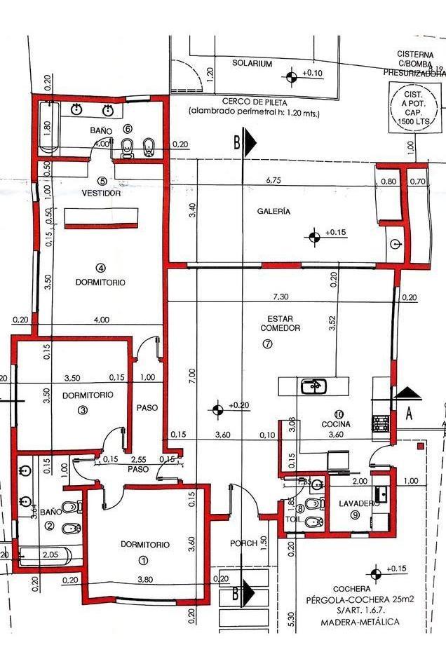 venta casa 4 ambientes con pileta! haras santa maria