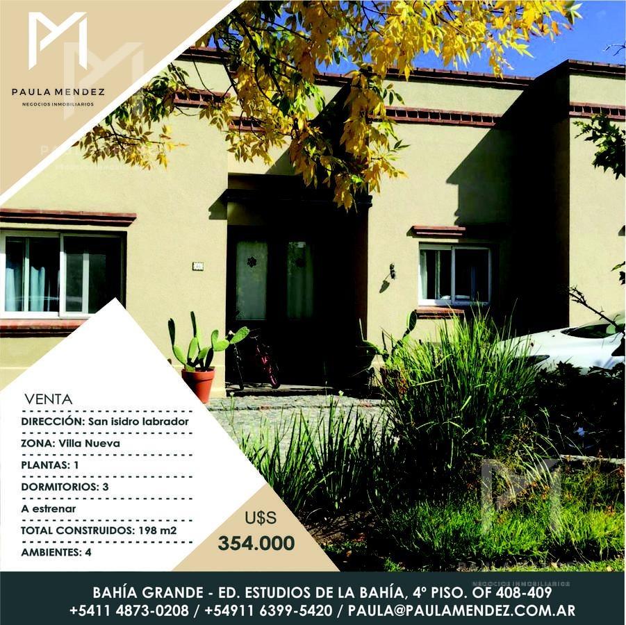 venta - casa - 4 ambientes - san isidro labrador - tigre - villanueva