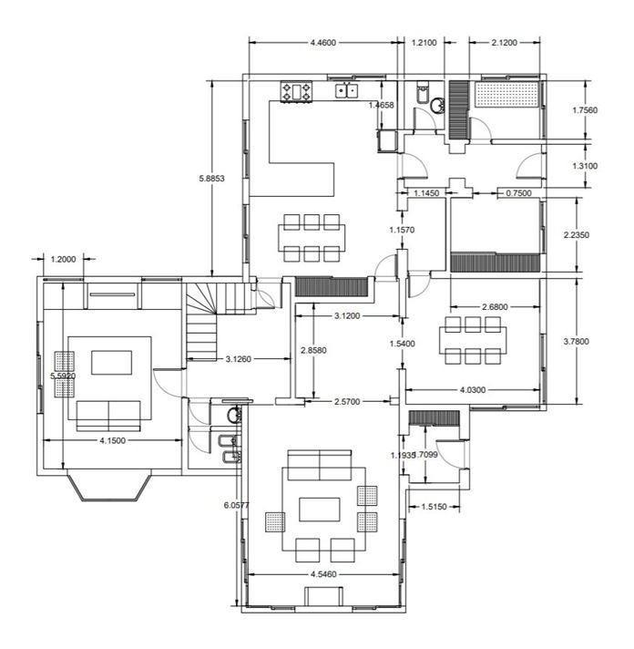 venta casa 5 dormitorios zona el triangulo