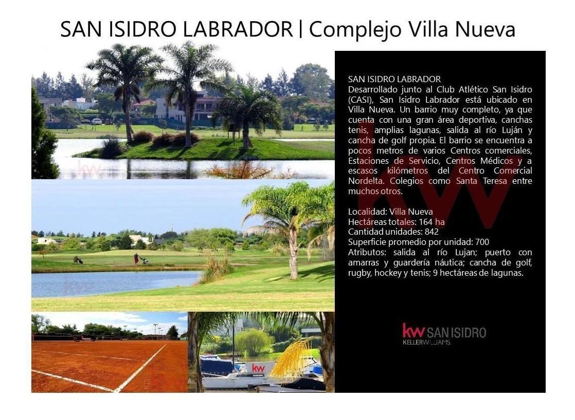 venta| casa| a laguna| barrio cerrado san isidro labrador| 4 dormitorios|  villa nueva| apto crédito | tigre| nuevo  delta| barrio náutico