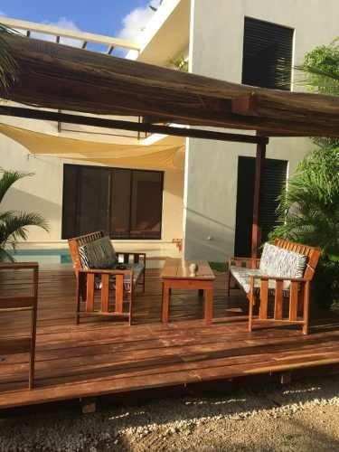 venta casa agave tulum  seminueva equipada ubicada plusvalia