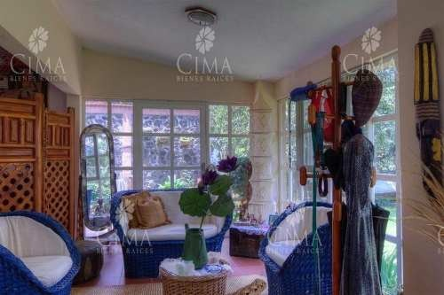 venta casa con jardín al norte de cuernavaca - v87