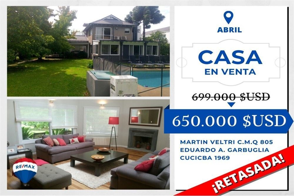 venta casa country abril, los robles 59