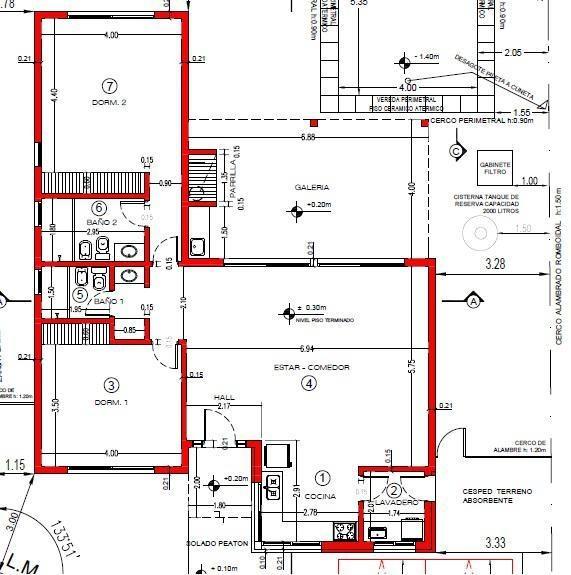 venta, casa, de pozo, 3 ambientes, pilar del este
