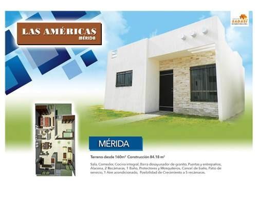 venta casa en fraccionamiento las américas mérida