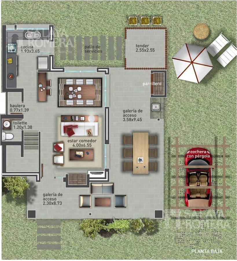venta casa en pinares, playa mansa, barrio privado, 2 dormitorios, duplex