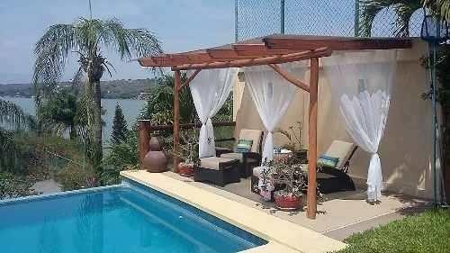venta casa en tequesquitengo con vista al lago