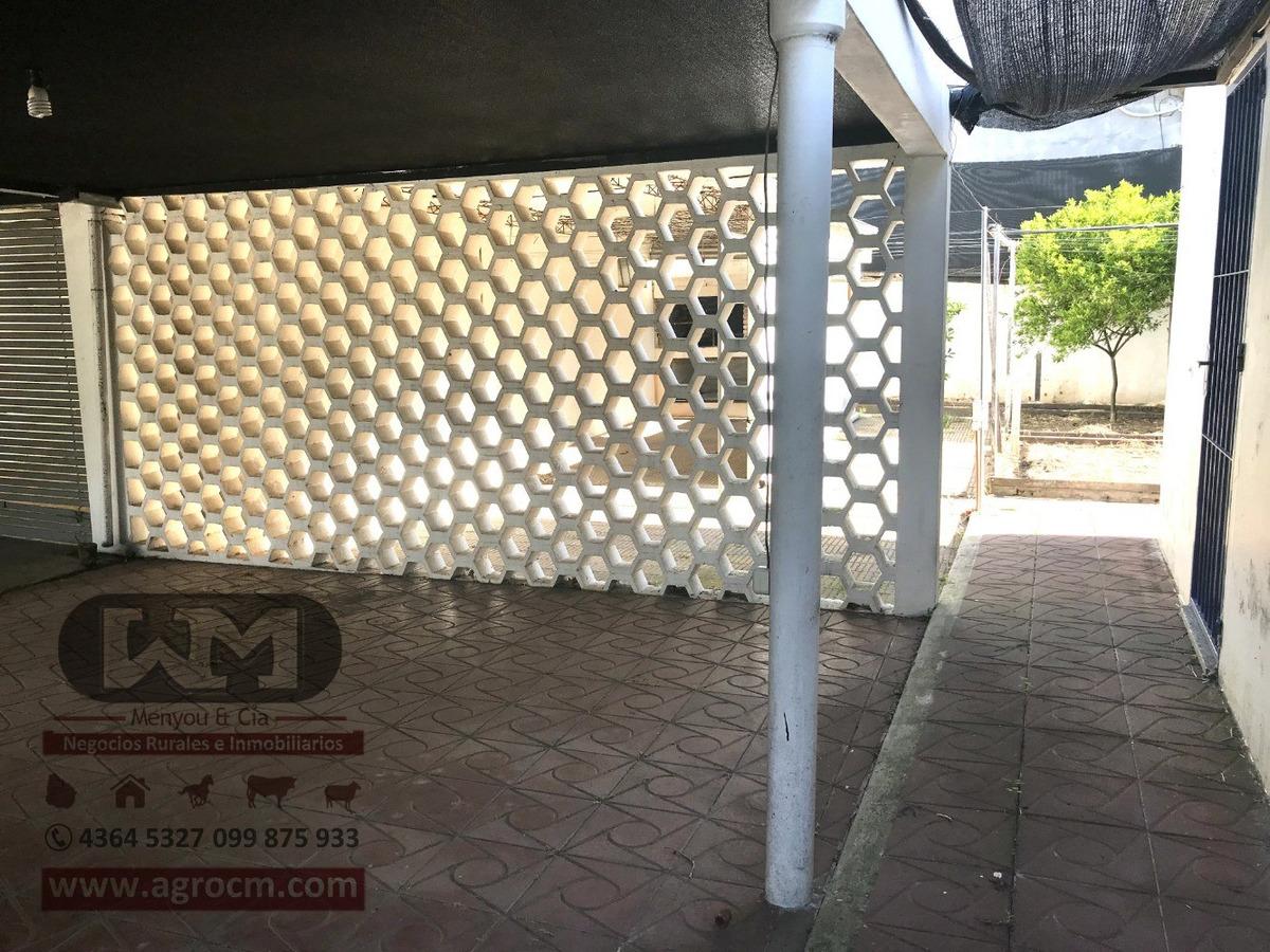venta casa en trinidad flores 3 dormitorios cochera + patio