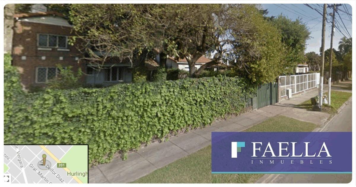venta casa hurlingham zona iglesia amplio lote 650m2