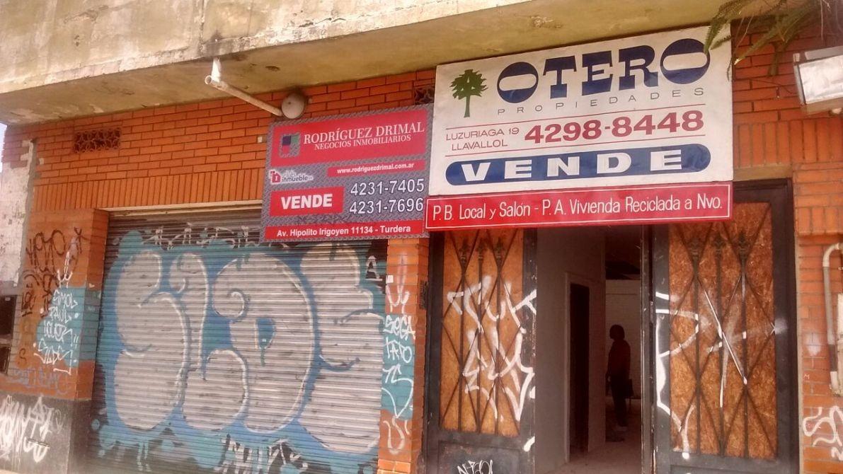 venta casa + local llavallol