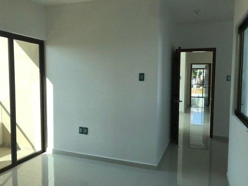 venta casa nueva en esquina 3 recamaras en el morro