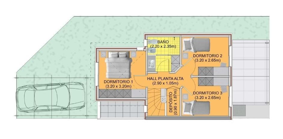 venta casa parque miramar 3 dormitorios a estrenar