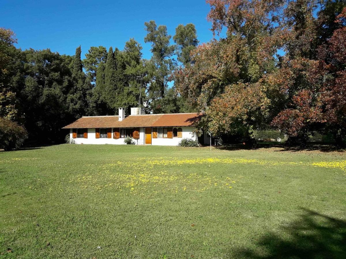 #venta casa quinta 11.990 mts. -  lobos - buenos aires