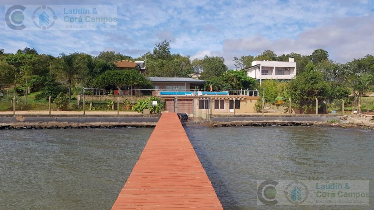 venta casa sobre el rio - posadas