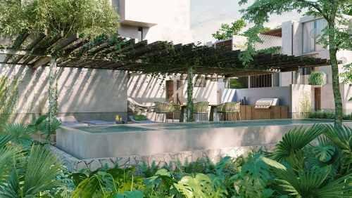 venta casa tulum agua y miel desarrollo super lujosa