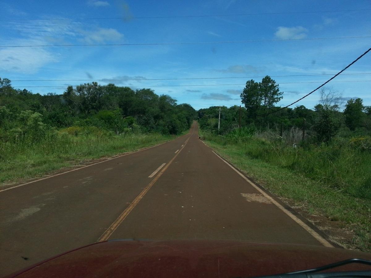 venta chacra 25 ha misiones santa ana. a 500 m de la ruta 12