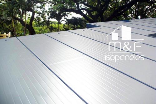 venta colocacion isopanel techo paredes modulos contenedores