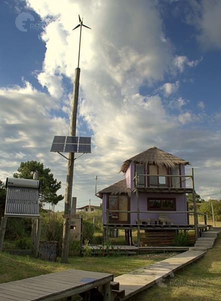 venta complejo de 3 casas ecológicas - punta del diablo