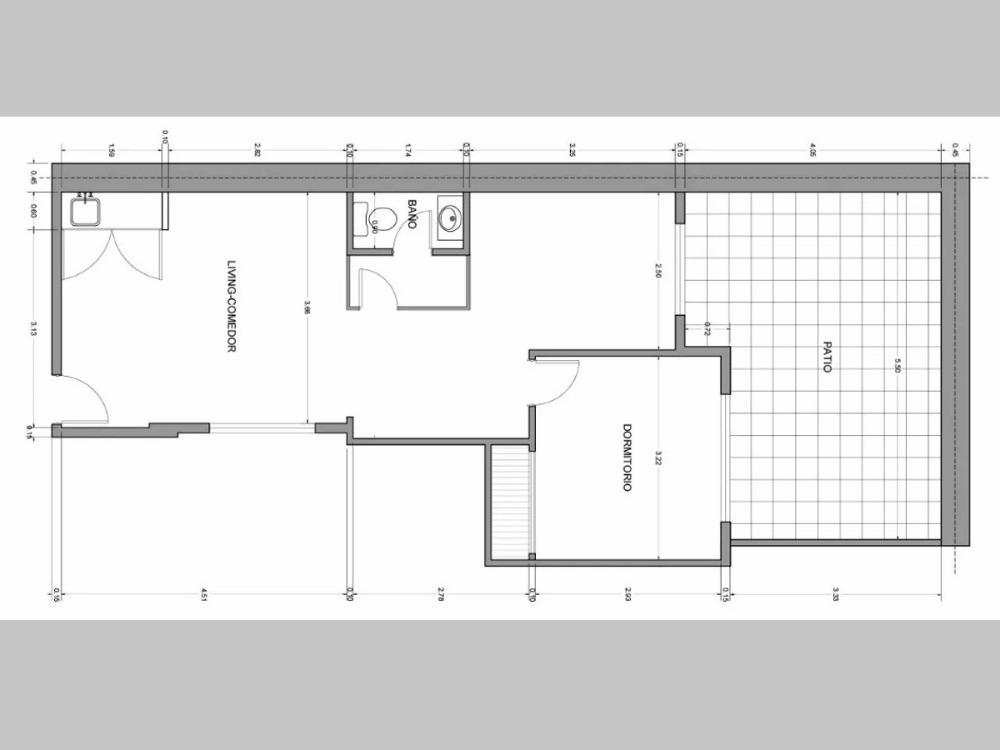 venta consultorio 3 ambientes pb patio san nicolas 639