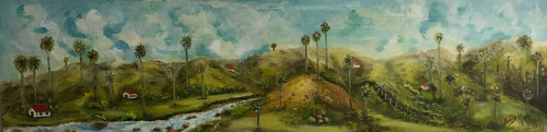 venta cuadro al óleo  valle de cocora