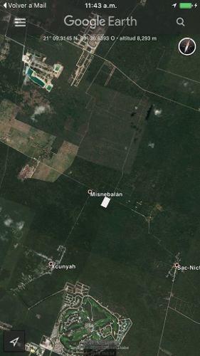 venta de 4.62 hectareas en chablekal.