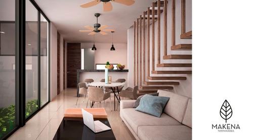 !!!venta de 6 estupendos townhouses, ubicados en la mejor zona temozón norte.!!!
