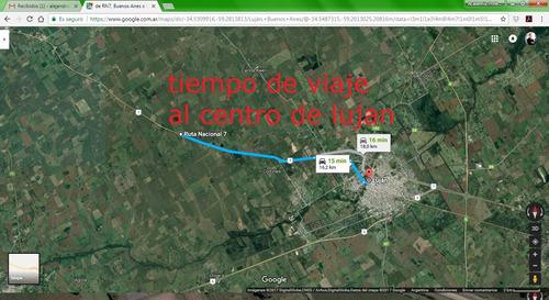 venta de 8 hectáreas sobre autopista