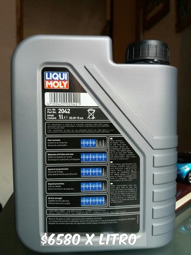 venta de aceite de autos liqui moly 10w40