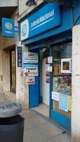 venta de agencia de loteria nacional con local