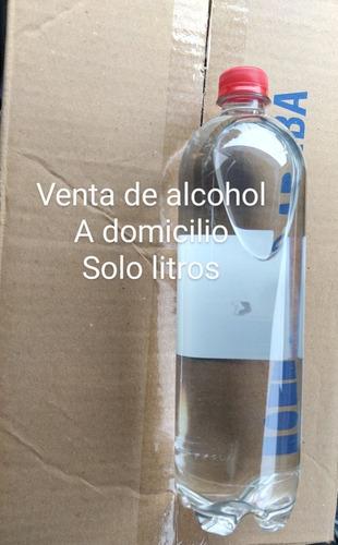 venta de alcohol a domicilio solo bogotá a 13 mil el litro