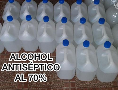 venta de alcohol antiseptico al 70%