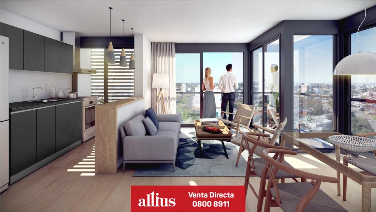 venta de apartamento 1 dormitorio en nostrum malvín