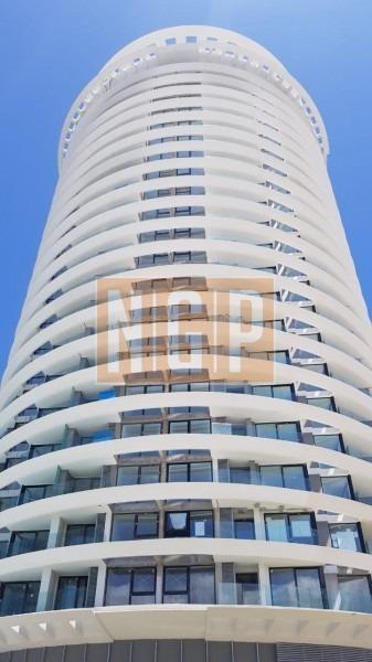 venta de apartamento de 1 dormitorio, punta del este en torre de gran categoría recientemente inaugurada. con gastos de posesion pagos-ref:12280