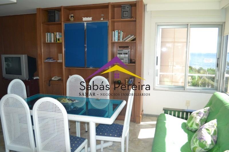 venta de apartamento de 2 dormitorios en playa mansa punta del este- ref: 37547
