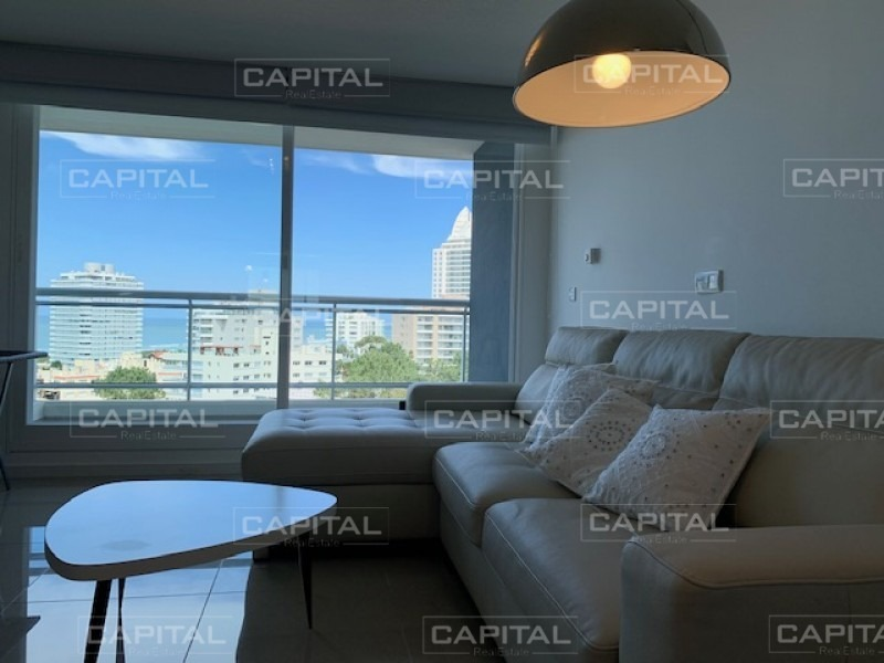 venta de apartamento en torre de categoría con variedad de amenities y vista al mar-ref:28349