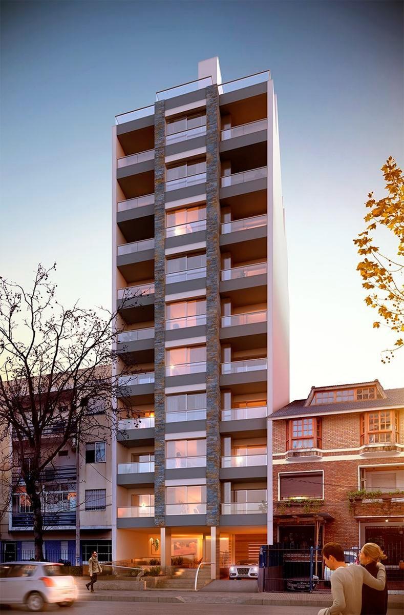 venta de apartamento monoambiente con terraza en pocitos