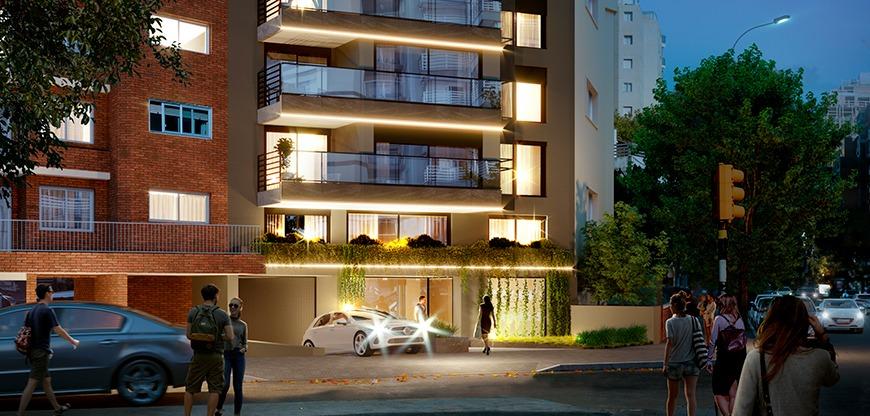 venta de apartamento monoambiente en punta carretas