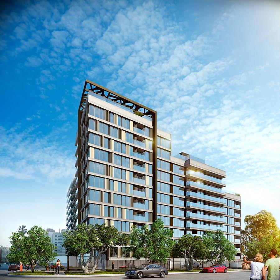 venta de apartamento monoambinete con terraza en malvín