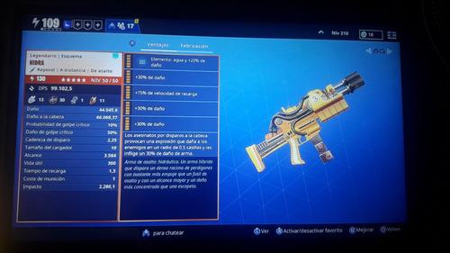 venta de armas fortnite salvar el mundo armas 130 y 106