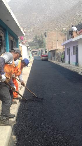 venta de asfalto en frío y caliente, servicio de asfaltado