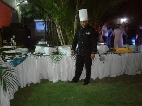 venta de banquete de comida nacional e internacional