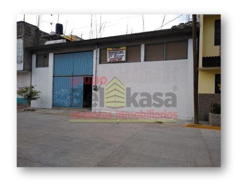 venta de bodega en chimalhuacán, estado de méxico
