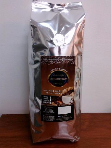 venta de café orgánico tostado molido y grano coffeemitierra