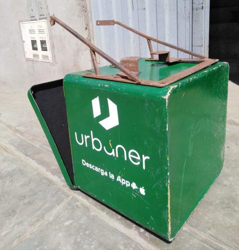 venta de caja de fibra para moto lineal