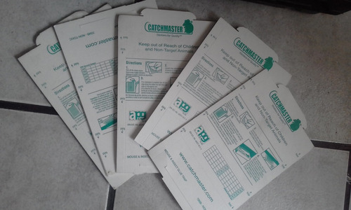 venta de cajas cebaderas, pegas y fumigacion y desratizacion