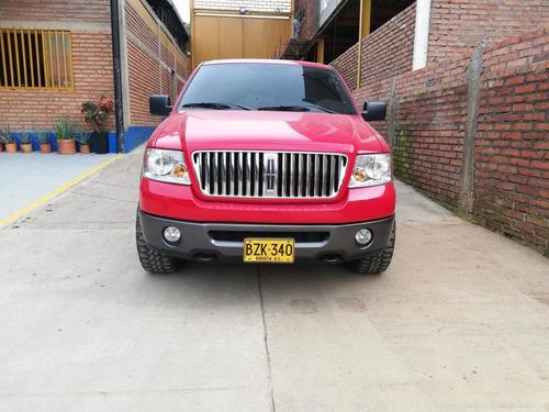 venta de camioneta ford 150 roja modelo 2007