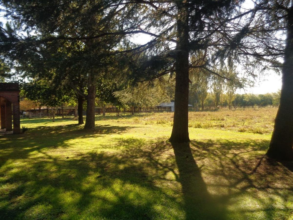 venta de campo en lobos, establecimiento avicola con casas