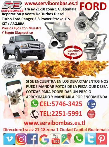 venta de cartucho de turbo ford ranger 3.0 wlaa guatemala