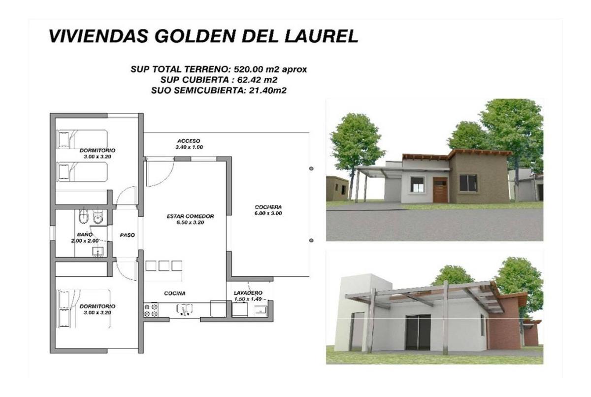 venta de casa a estrenar en cerro de oro san luis 2 habitaci