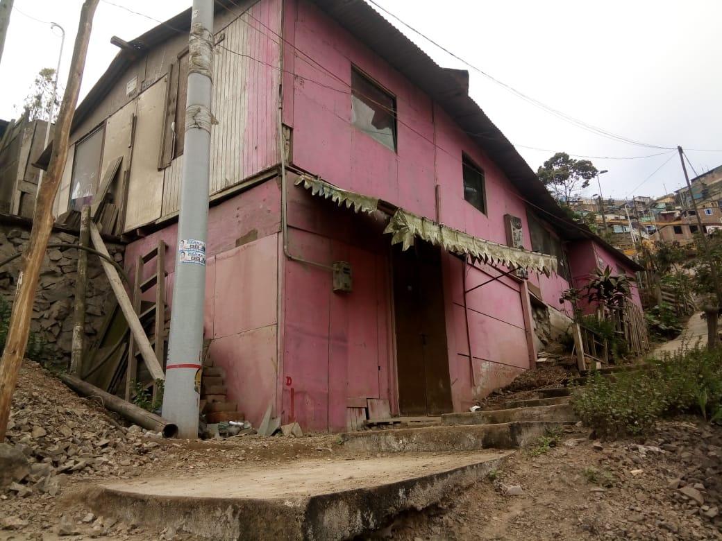 venta de casa de maderas en sjm